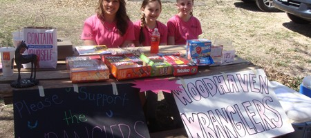 Concession sale fundraiser at Woodhaven Playday