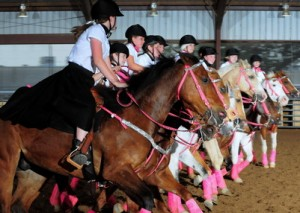 Texas Open 2011 | Woodhaven Wranglers Equestrian Drill Team