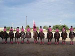 Texas Open 2010 | Woodhaven Wranglers Equestrian Drill Team