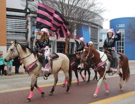 Allen Christmas Parade 2014 | Woodhaven Wranglers