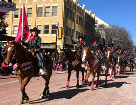 Fort Worth Stock Show Parade 2018 | Woodhaven Wranglers